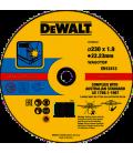 DISCO DA TAGLIO ACCIAIO INOX 230X1,9X22,23 DEWALT DT43909-QZ