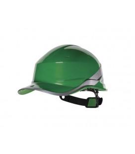 BASEBALL DIAMOND V Casco di sicurezza, verde, DELTAPLUS
