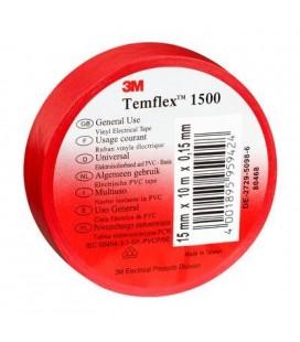 NASTRO IN PVC 3M™ Temflex™ 1500, Rosso 25mm x 25mt