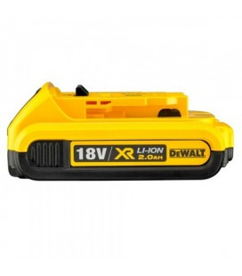 BATTERIA XR LITIO 18V 2Ah BLUETOOTH DEWALT DCB183