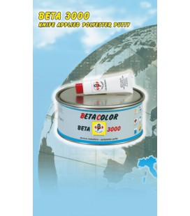 STUCCO POLIESTERE A SPATOLA COLORE BIANCO B204 KG.2 BETA3000 BETACOLOR