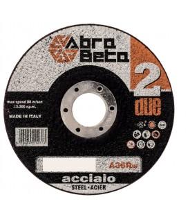 DISCHI DA TAGLIO ,115X1,6 X22,23  A36R ACCIAIO ABRA BETA