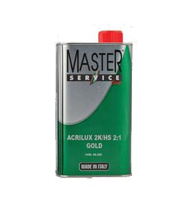 TRASPARENTE ACRILICO ACRILUX 2K/UHS 1LT + CATALIZZATORE UNIHARD 600 LT.0.50 ,MASTER SERVICE