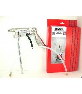 Ani Aerografo A/206 11/A Pistola per trattamenti insonorizzanti con Tubetto 500 mm per Scatolati