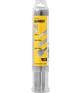 Kit 3 scalpelli (punta, piatto e spatola) modello DT60330-QZ marca DEWALT